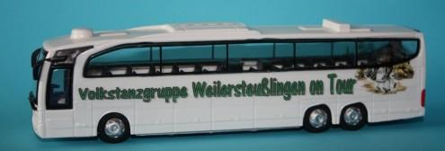 mit dem Bus auf Reisen zu unseren befreundeten Gruppen